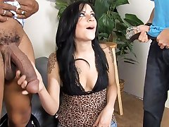 Vanessa Naughty Fucks BBC In Front Of Her New Cuckold Boyfriend