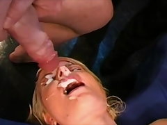 Fucked after facial